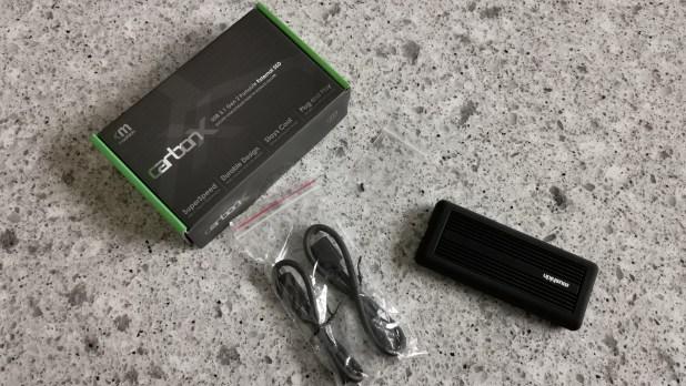 Mushkin carbonX USB 3.1 Gen 2 移动固态硬盘测评